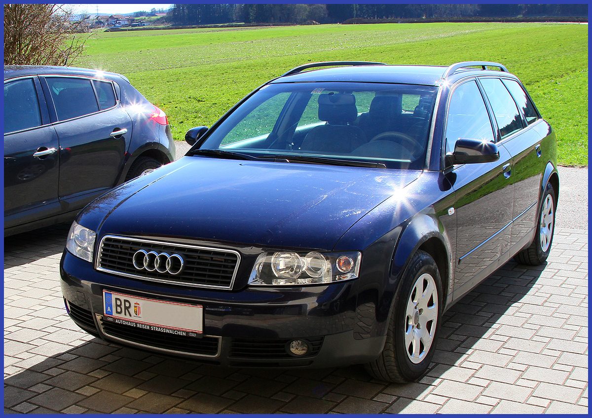 audi a4 avant modell 2003 ebay. Black Bedroom Furniture Sets. Home Design Ideas